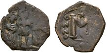 Ancient Byzantine 613-641 Heraclius Constantine Martina Follis #1