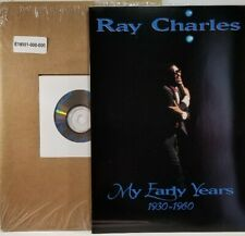"""NEW~R&B & Soul~RAY CHARLES ~""""MY EARLY YEARS 1930-1960""""~ CD & BIOGRAPHY BOOKLET"""