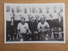 GERMANY 1954 - WORLD CUP WINNING TEAM PHOTOGRAPH - MARS CONFECTIONERY - POSTCARD