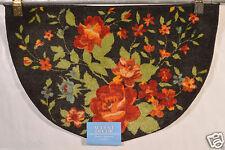 NOURISON RED FLOWER ACCENT DECOR KITCHEN RUG/MAT 20X30 100% WASHABLE