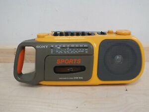 Sony Sports CFM-104L Radio Cassette Player AM FM Radio Cassette Not working(Hol)