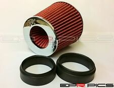 K&N Universal Induction Replacement Red Air Filter Ford Citroen Renault Vauxhall