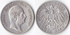 GERMANIA GERMANY 2 MARK 1903E SACHSEN