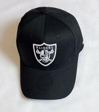 Plain Oakland Raiders Adjustable Size Football NFL Cap NY Unisex Baseball Hat