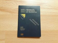 Bosnia and Herzegovina, Collectible Biometric passport, Cancelled
