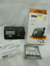 Korg CA-30 Chromatic Solo Tuner TESTED WORKING Batteries Instructions Here I5