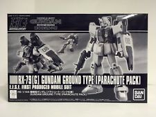 Premium Bandai HG 1/144 RX-79 [G] Gundam Ground Type Parachute Pack 08 MS Team