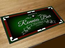 Personalizzato Welcome Tavolo Da Biliardo Birra bar tappetini passatoie