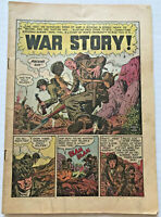 Vintage 1950 Two Fisted Tales #19 EC Comic Book coverless Wally Wood Kurtzman