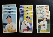 2016 Topps Heritage Minors team set x4 lot New York Yankees - 24 cards