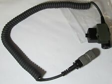 NEXUS U-94A/U MSA PRC 10054233 PTT RANGER  COILED COMMUNICATION CABLE ASSEMBLY