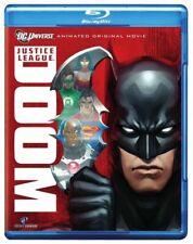 Blu Ray JUSTICE LEAGUE DOOM. DC comics animation. Region free. New sealed.