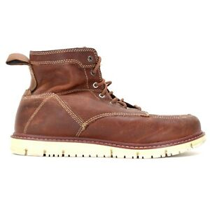 "Keen Mens San Jose 6"" Breathable Soft Toe Work Chukka Boots Size US 13 D EU 47"