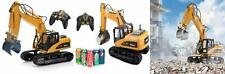 Top Race 15 Channel Remote Control Rc Fork Excavator, Construction Grapple.