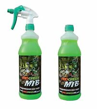 2 x Pro-Green MX Bike Motorcycle Motocross Cycle MTB Cleaner Wash 2 Litre Spray