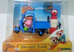 Koala Brothers  Diecast Truck with Sammy Corgi