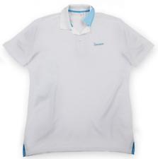 Vespa Logo Polo Shirt / T-Shirt Mens White / Blue Official Product 20% OFF RRP