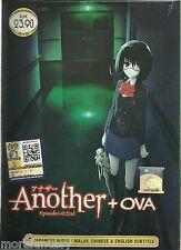 ANIME DVD Another Ep.1-12 End + OVA +Bonus Anime DVD+ Tracking No.