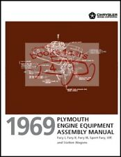 PLYMOUTH 1969 ASSEMBLY MANUAL FURY ENGINE BOOK SERVICE