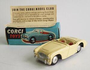 Corgi Toys No. 300, Austin Healey Sports Car, - Superb Pristine Mint Condition.