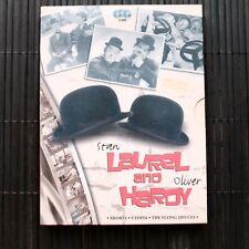 LAUREL AND HARDY - SHORTS/UTOPIA/THE FLYING DEUCES  - 3-DVD  - DIGIPACK