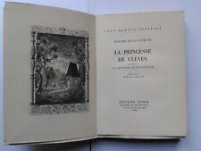 """Madame de LA FAYETTE """"La princesse de Clèves"""" Ed. Stock NUM. Vélin, 1948 arland"""