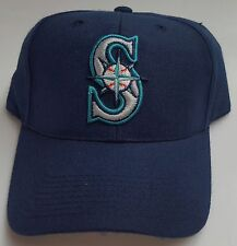 NEW! MLB Seattle Mariners Navy Embroidered Adjustable Snapback Cap