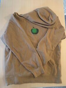 Supreme Apple Hoodie Brown XL Used