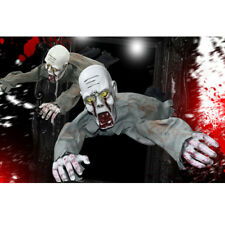 Scary Halloween Crawling Ghost Prop Animated Haunted House Party Floor Decor