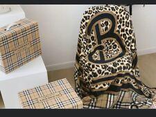 Burbery Fancy  Blanket THROWS- HOME DECOR