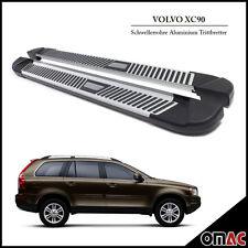 Schwellerrohre Aluminium Trittbretter für Volvo XC90 2003 - 2015 Pyramid (193)