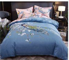 New peacock 4pcs bedding set Duvet/quilt pillowcase cover queen king set