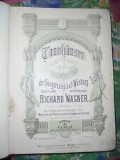 14529 Richard Wagner Tannhäuser und der Sängerkrieg auf der Wartburg Klavier
