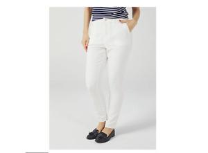 Dannii Minogue Slim Leg Utility Trouser Petite White Size 8P BNWT