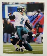 David Akers Signed 8x10 Photo (Philadelphia Eagles,San Francisco 49ers) COA