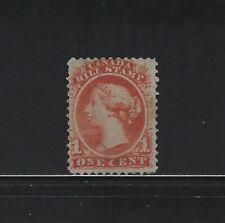 CANADA - #FB18 - 1c USED QUEEN VICTORIA BILL STAMP (1865)