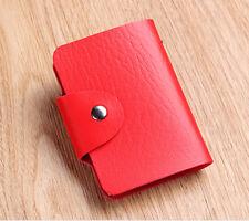 Red Cute Mini bag Womens Wallet Holder Pocket Business ID Card Credit Bag