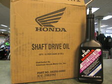 Genuine Honda Shaft Drive Oil 12 Bottles 1 Case 8oz Bottles TRX Goldwing L@@K