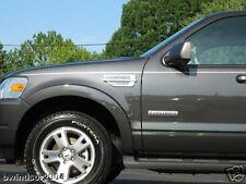 Ford Explorer chrome fender vent port hole universal trim