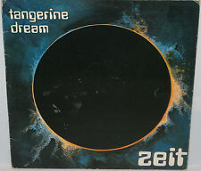 Tangerine Dream Zeit Gatefold 2 LP set Virgin VD2503 VGC UK Pressing Double