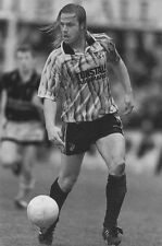 Football Photo>ROBIN VAN DER LAAN Port Vale 1990s