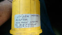 Marinco 110A  50 amp to 30 amp Shore Power Straight Adapter USED