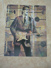 Buddy Holly Guitarist 12x9 Coffee Table Book Photo Page #2