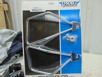 Chrome Saddlebag Support Brackets 00-17 Softail FLST FXST P/N: DS-110859
