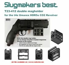 SMB T23-412 HDR50 double magholder rail mount für t4e HDR 50 cal.50 - stl files