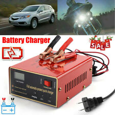 Maintenance-free Battery Charger 12V/24V 10A 140W Output For Electric Car US