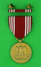 Army Good Conduct Medal & Mounted Ribbon Bar - Full size U.S.A. Made, GCM, AGCM