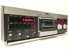 ReVox B710 Microcomputer Controlled Cassettte Tape Deck Serviced 100% Near Mint