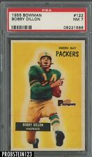 1955 Bowman Football SETBREAK #122 Bobby Dillon Packers PSA 7 NM