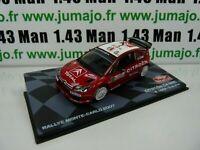 RMIT33F 1/43 IXO Rallye Monte Carlo : CITROËN C4 WRC S.Loeb 2007 #1
